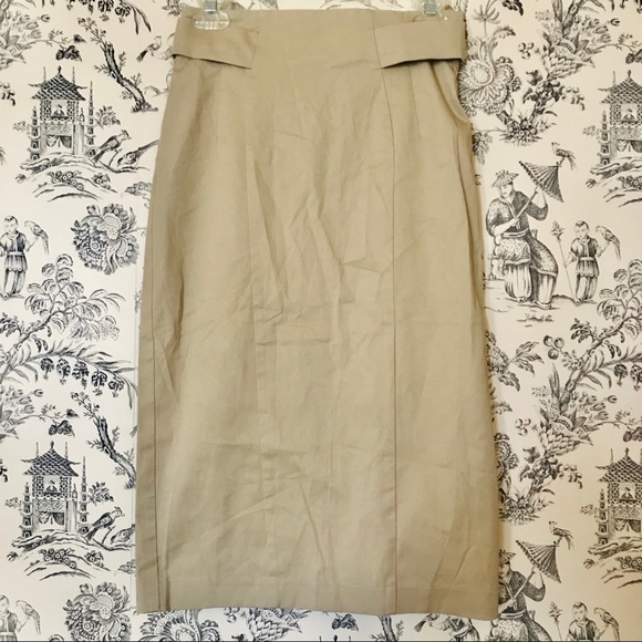 New York & Company Dresses & Skirts - NWT New York & Co. Khaki Pencil Skirt